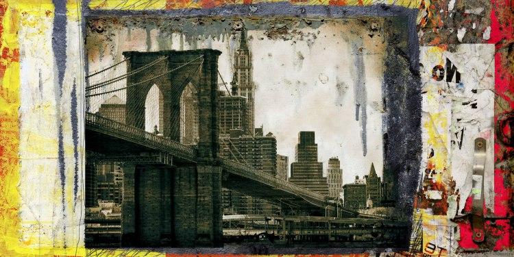 pont brooklyn pancarte