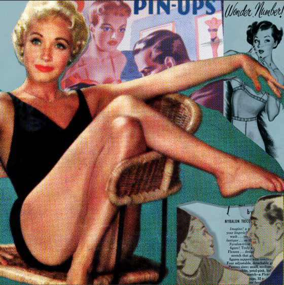 Pin up girl 1
