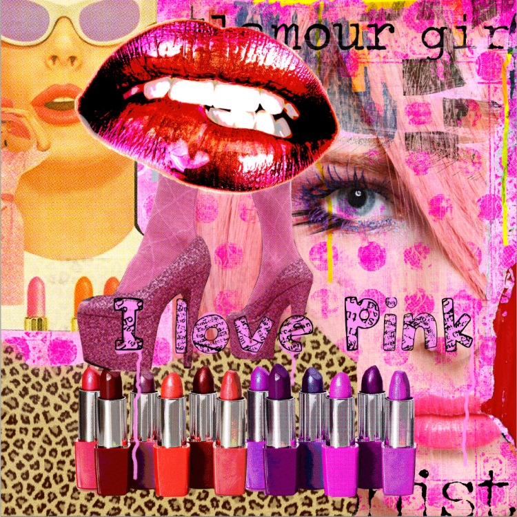 I love pink_LuzGraphicStudio