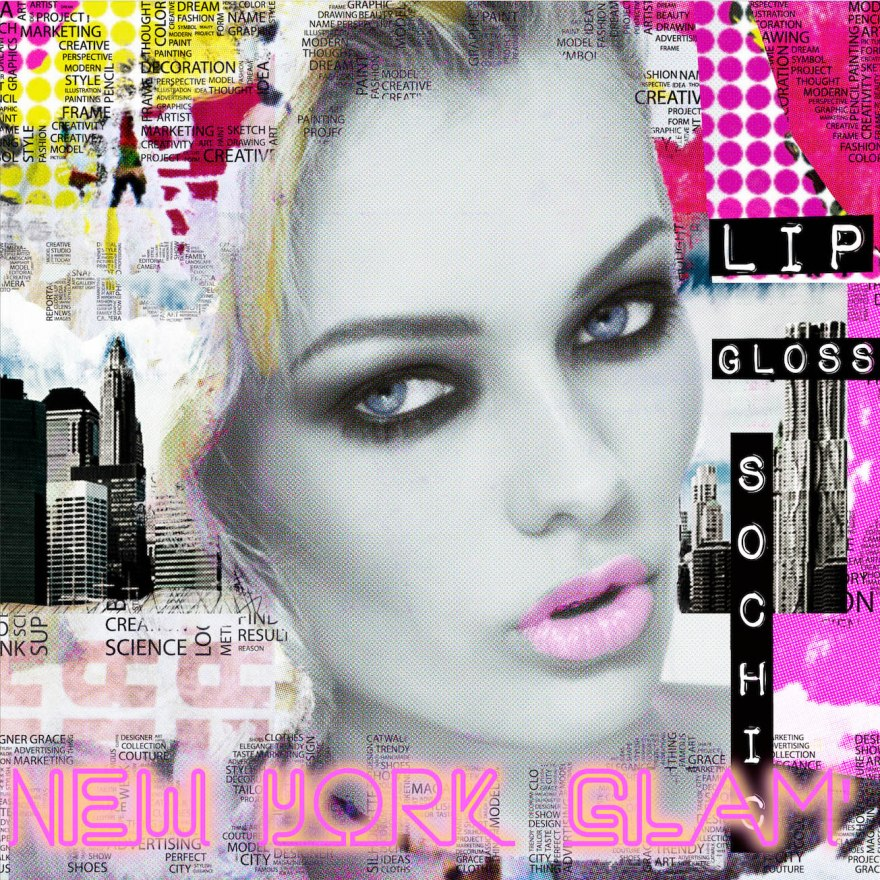 New York glam's_LuzGraphicStudio