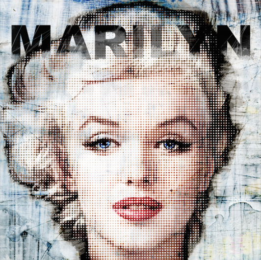 Marilyn-HalfTone_LuzGraphicStudio